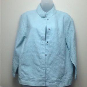 Eileen Fisher Light 100% cotton Jacket